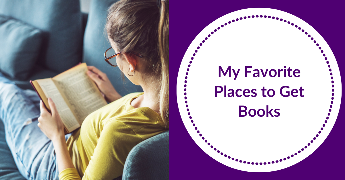 My Favorite Places to Get Books