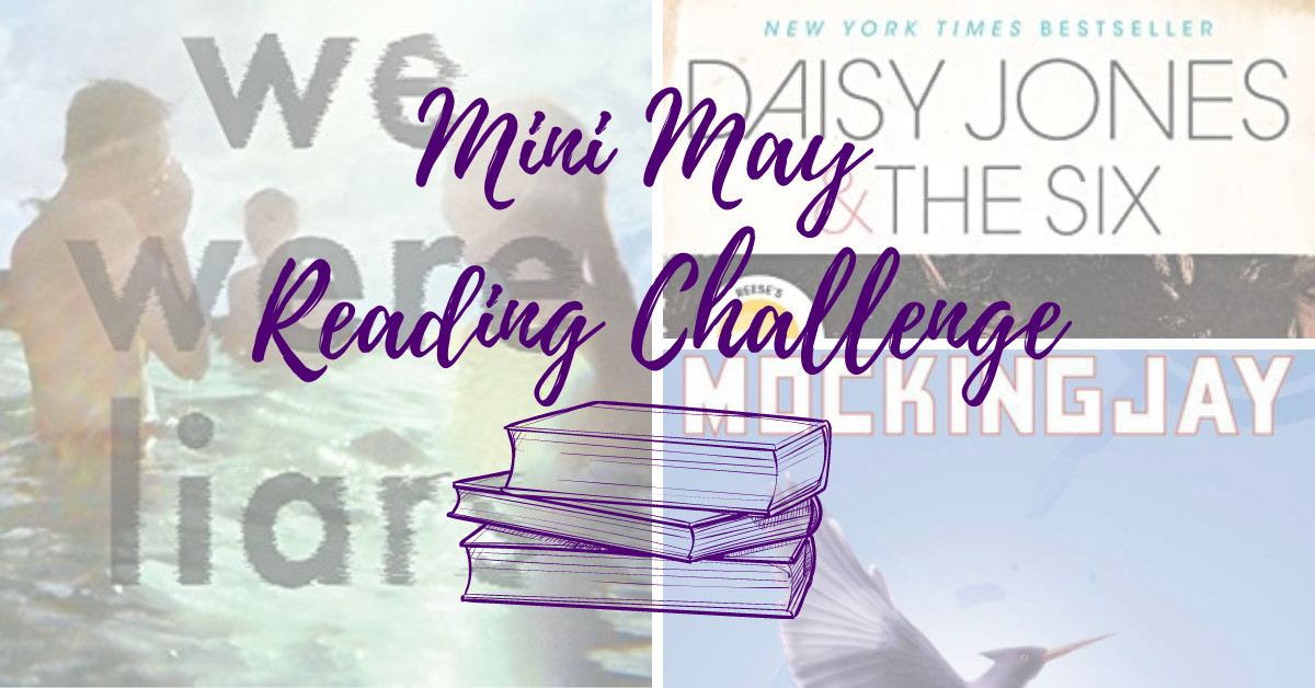 The 52 Book Club Mini May Reading Challenge