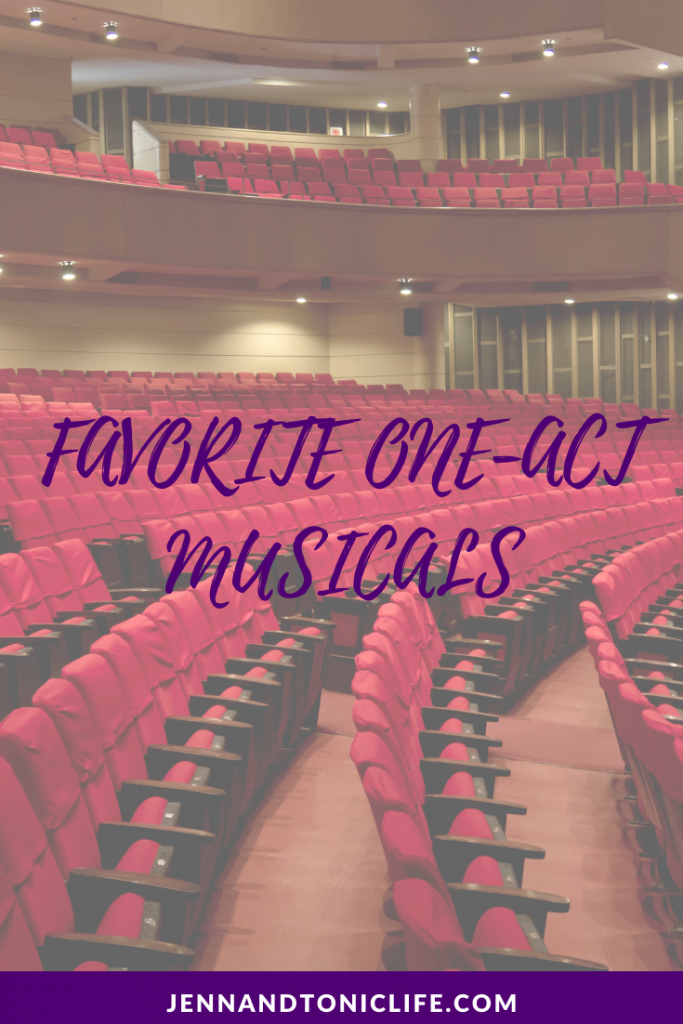 Favorite One-Act Musicals Pinterest Pin